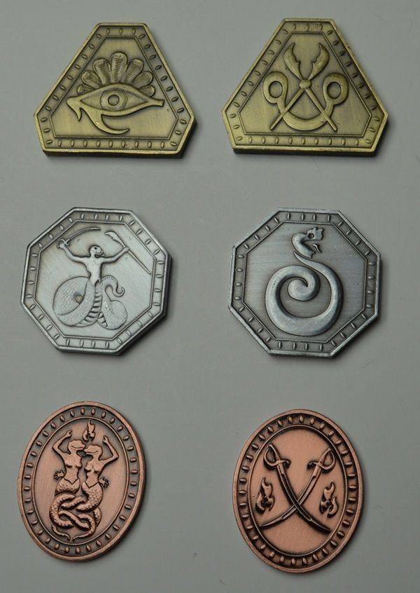 Fake Coins And Gems Made Just For Tabletop RPG Adventures
