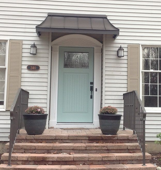Metal Awning In Township Nj Front Door Awning House Awnings Cheap Front Doors