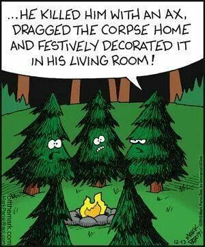 Christmas scary story