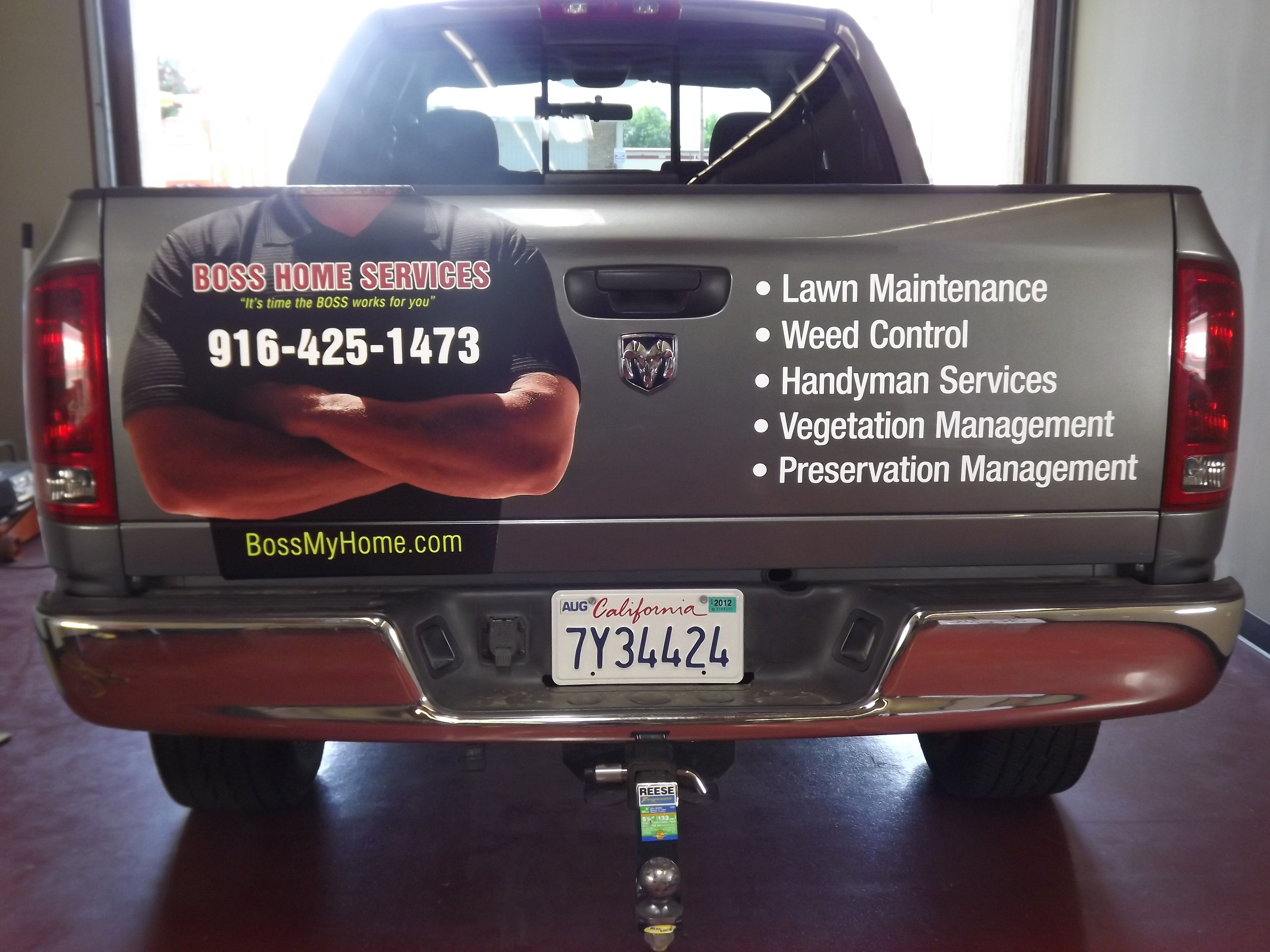 HANDYMAN FOR HIRE car vinyl decal vehicle bike graphic bumper sticker