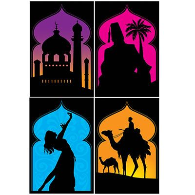 Photo of Arabian Nights Silhouettes (Pack of 48)