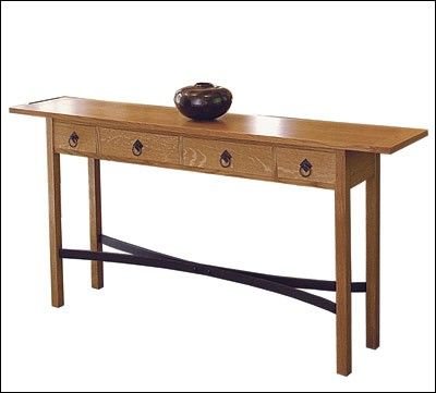 An Arts And Crafts Sofa Table Project Plan By Scott Gibson Woodworking Designs Print Project Pla Woodworking Inspiration Patio Chairs Diy Craftsman Decor
