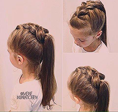 Lassen Sie sich inspirieren: Fabelhafte # Zöpfe Frisur für kleine Mädchen, die Sie für Sie au...