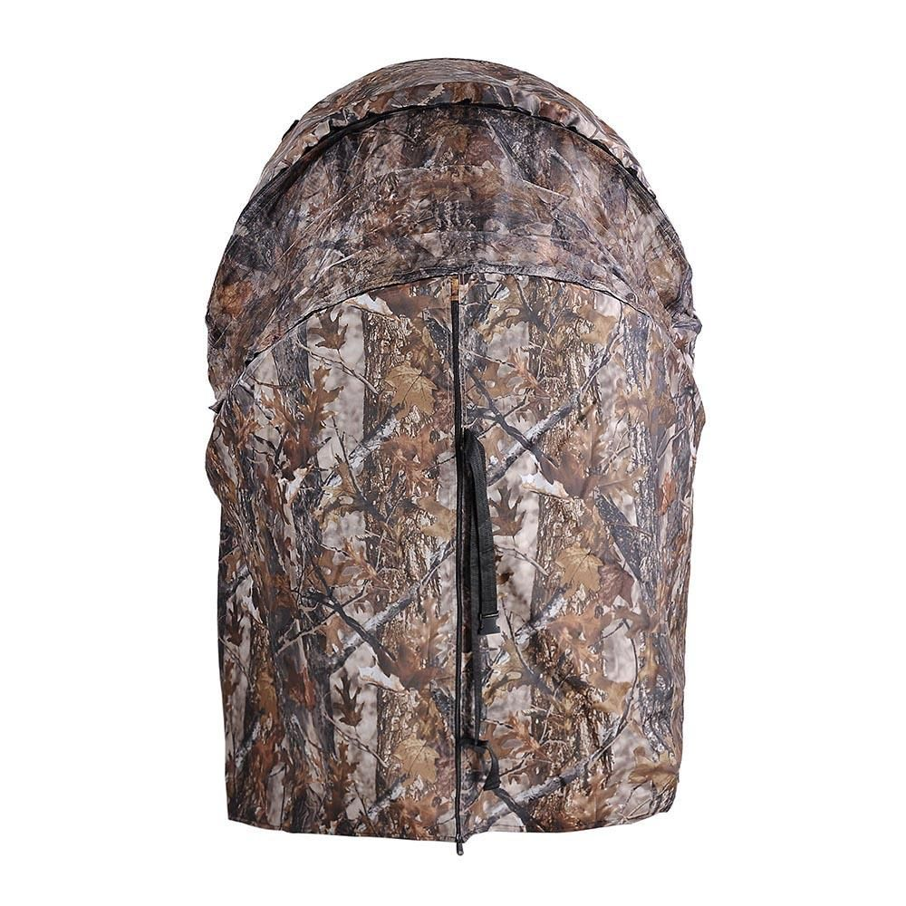 This Is A Brand New Professional Single Shooter Ground Hunting Blind Tent With A Built In Comfortable Chair With Hi Hunting Chair Ground Blinds Hunting Blinds