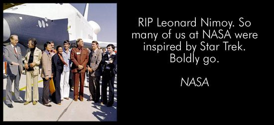 Star Trek Friends, Colleagues, Fans Pay Tribute To Nimoy