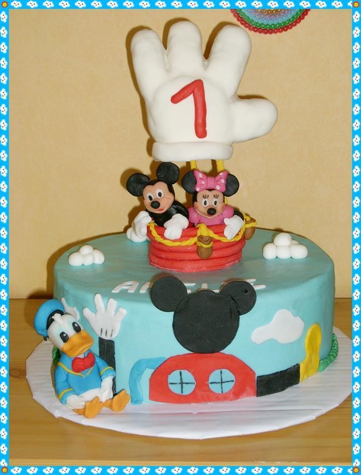 Schön Micky Maus Wunderhaus Torte, Mickey Mouse Wonderhouse Cake