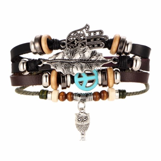bracelet femme hibou
