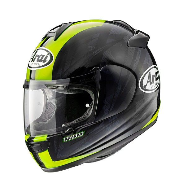 Arai Chaser V Blast Yellow Motorbike Helmet Buy