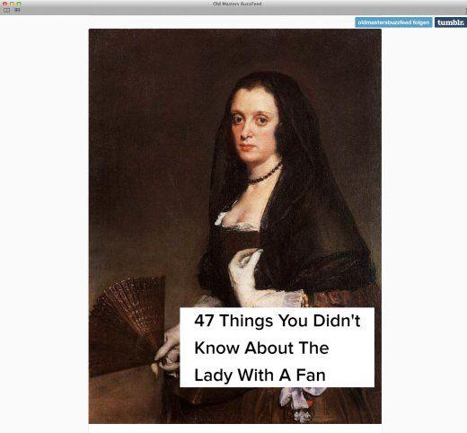 GREAT WORK: Kunst-Tumblr: Kim at the Museum und Old Masters Buzzfeed - SPIEGEL ONLINE