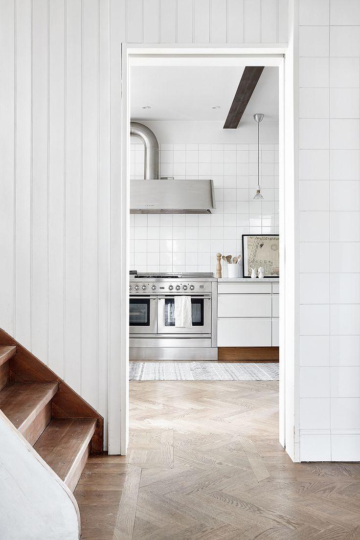 Paint it black? | Herringbone, Kitchens and Decking