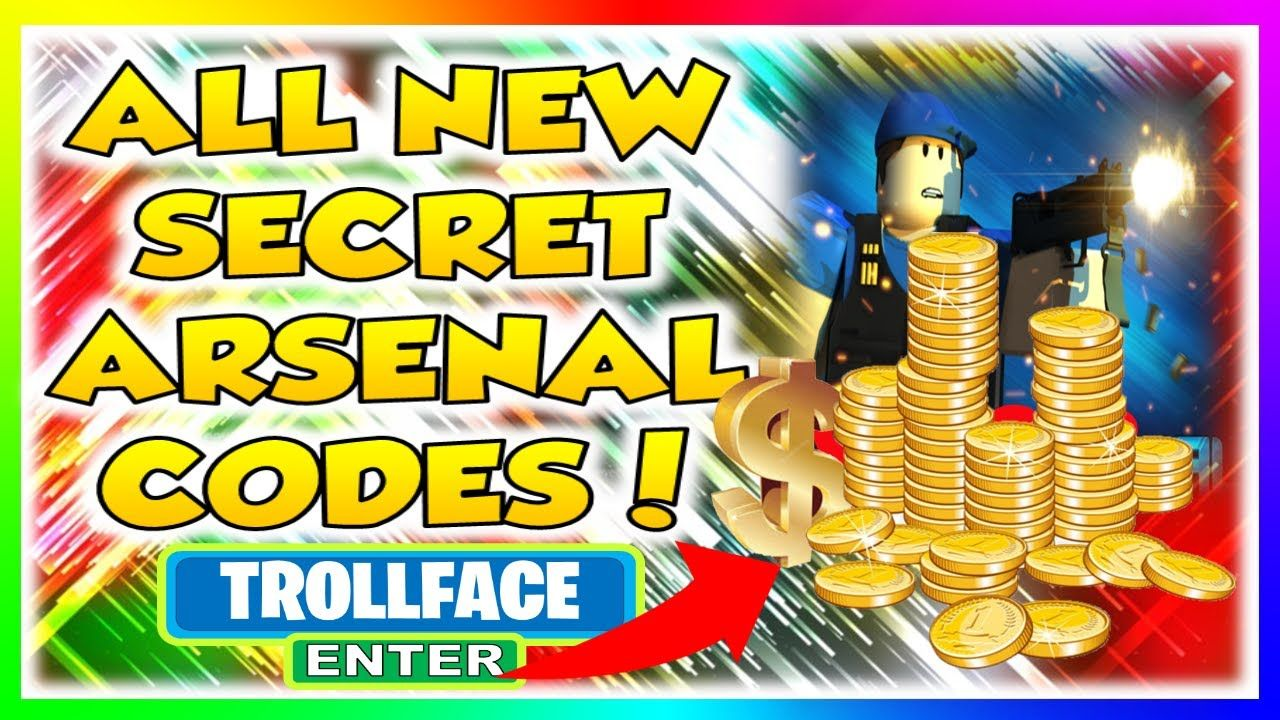 JULY 2020 ALL NEW SECRET ROBLOX ARSENAL CODES! in 2020