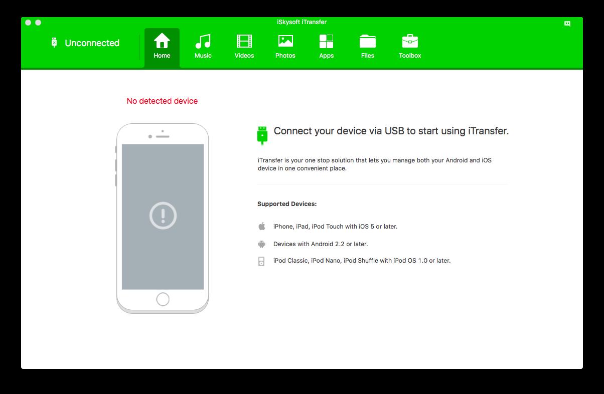 iSkysoft iTransfer 4.2.0.2 for Mac 破解版 iPhone备份工具