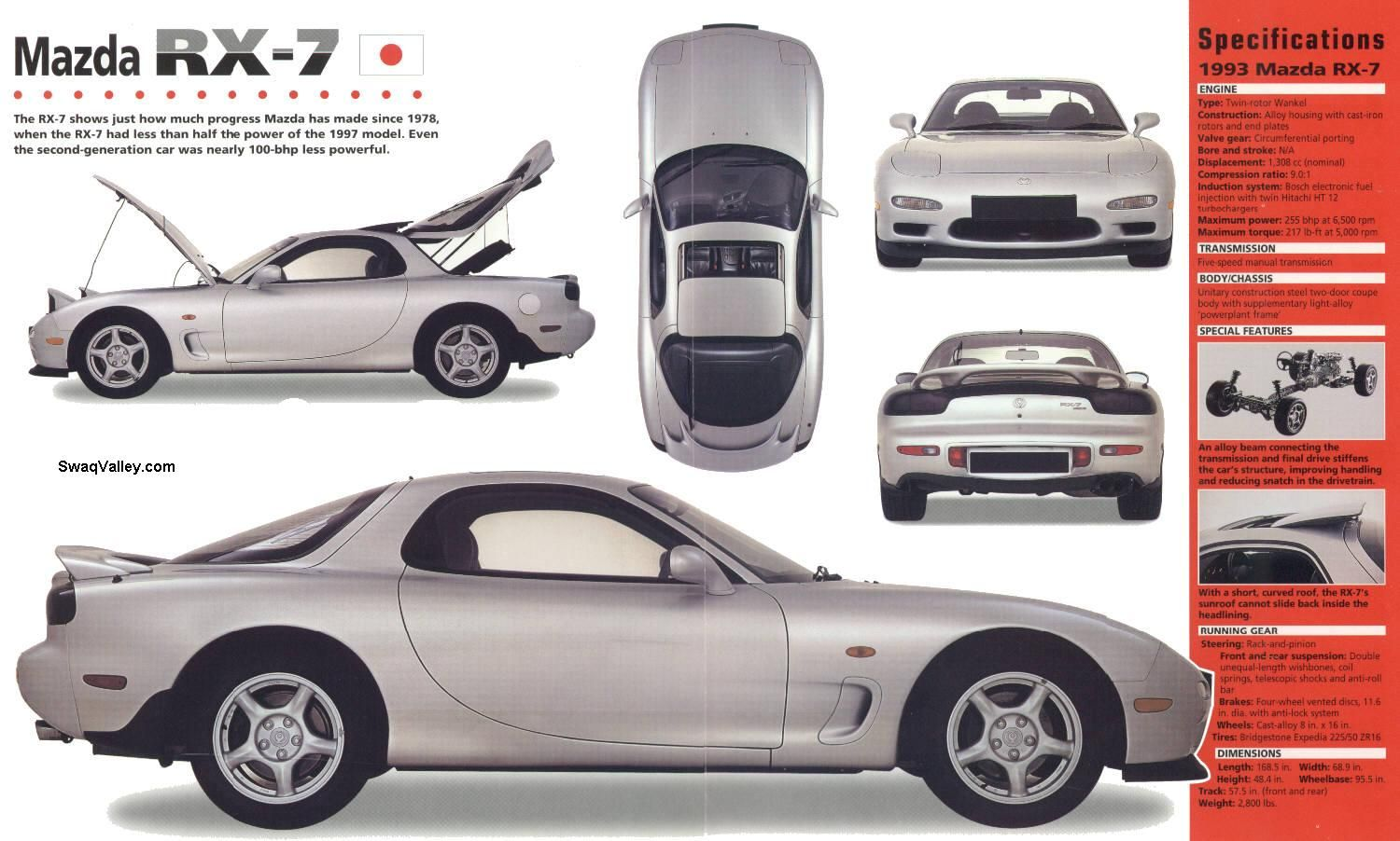1993 mazda rx 7 weighed nearly nothing 255hp rear wheel drive oil burner all this with no. Black Bedroom Furniture Sets. Home Design Ideas