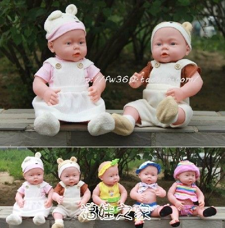 Free shipping reborn baby lifelike baby singing and talking dolls Vinyl & Silicone doll  Water doll artificial doll baby $33.62