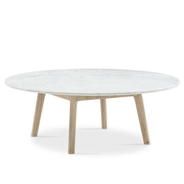 Marble Coffee Table Adelaide: Round Marble Coffee Table Low