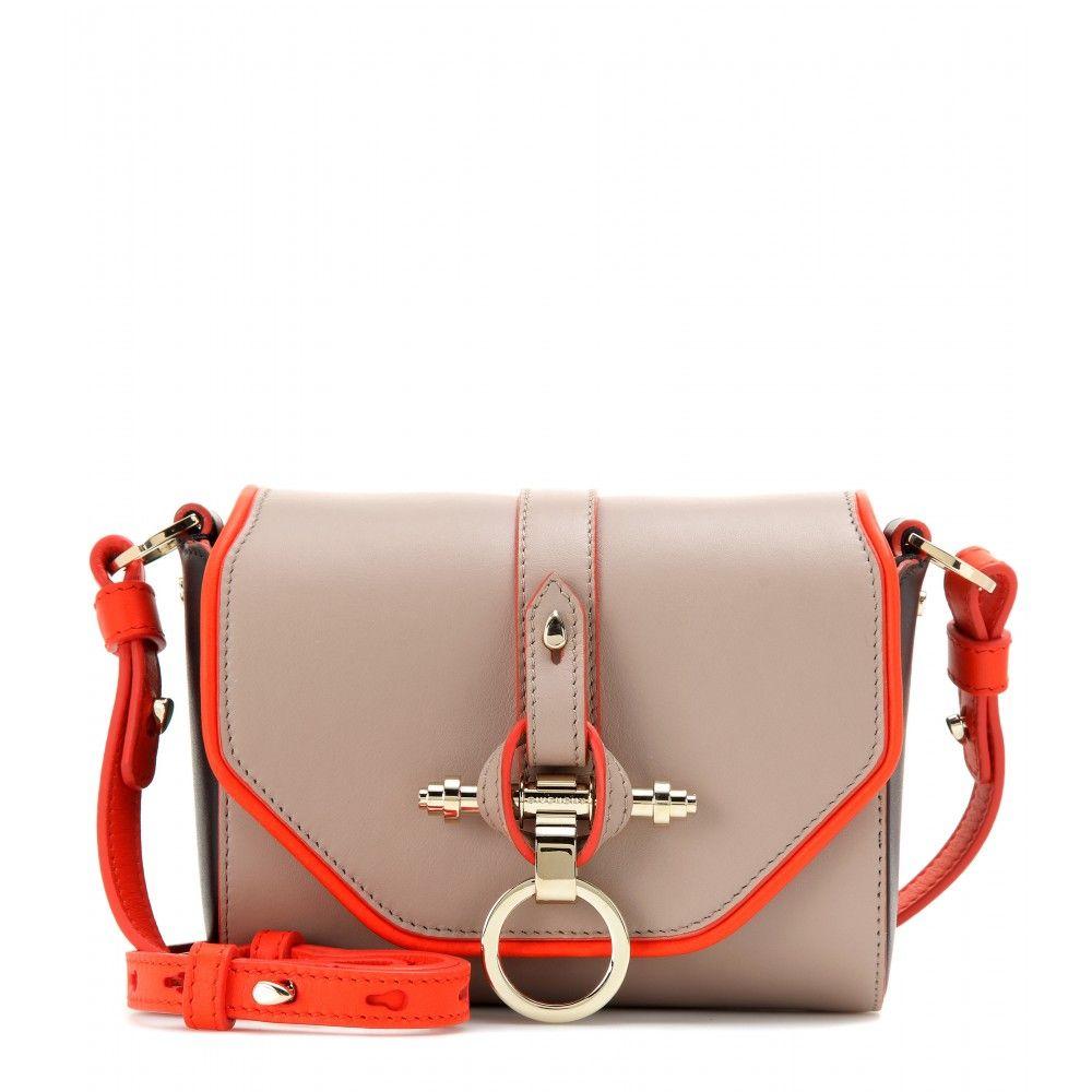 b33b34e59e Obsedia Leather Shoulder Bag ✽ 000793 + mytheresa.com