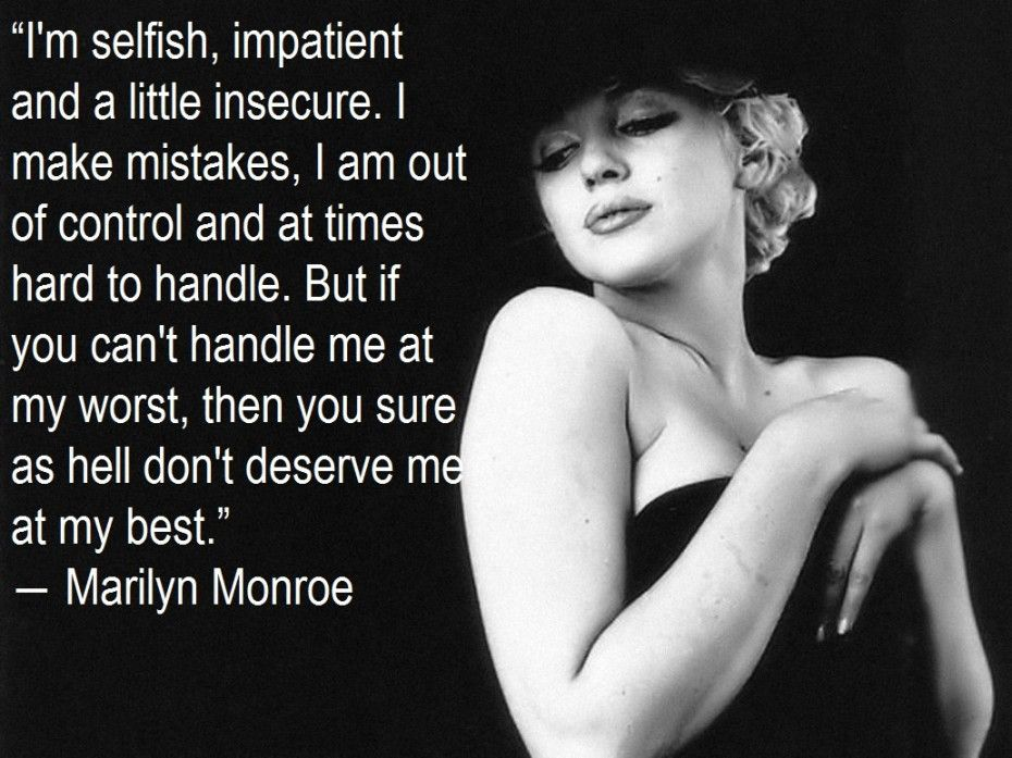 Famous Black Quotes About Life Awesome Marilyn Monroe Quotes Inspiration And Cute Marilyn Monroe Quotes