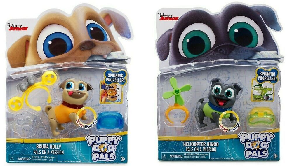 Disney Junior Puppy Dog Pals On A Mission Scuba Rolly Or