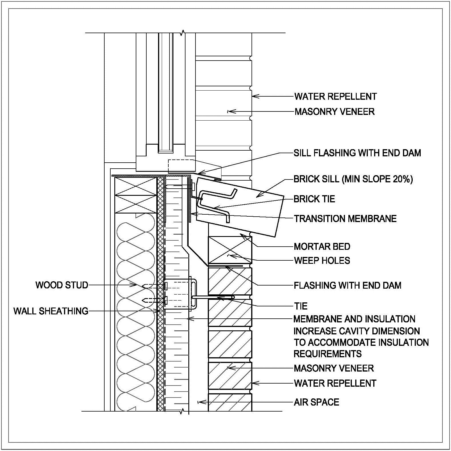 Bildresultat For Brick Window Sill Detail Window Detail Retaining Wall Design Interior Window Sill