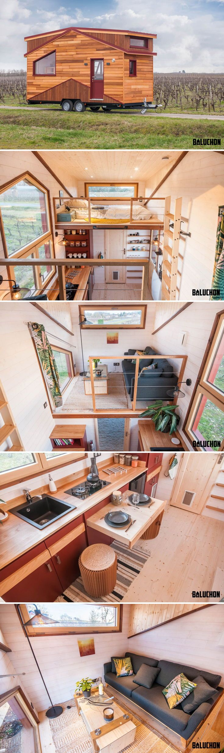 Treasure Island by Baluchon #tinyhome