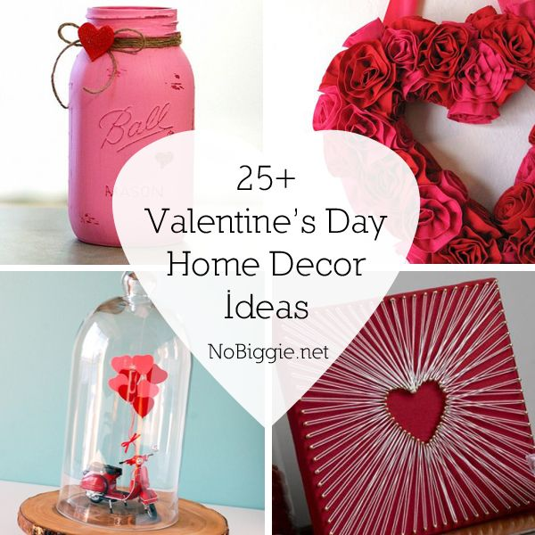 25+ Valentine\'s Day Home Decor Ideas | Craft, Adult crafts and ...