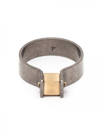 Cubist ring by Phoebe Porter.