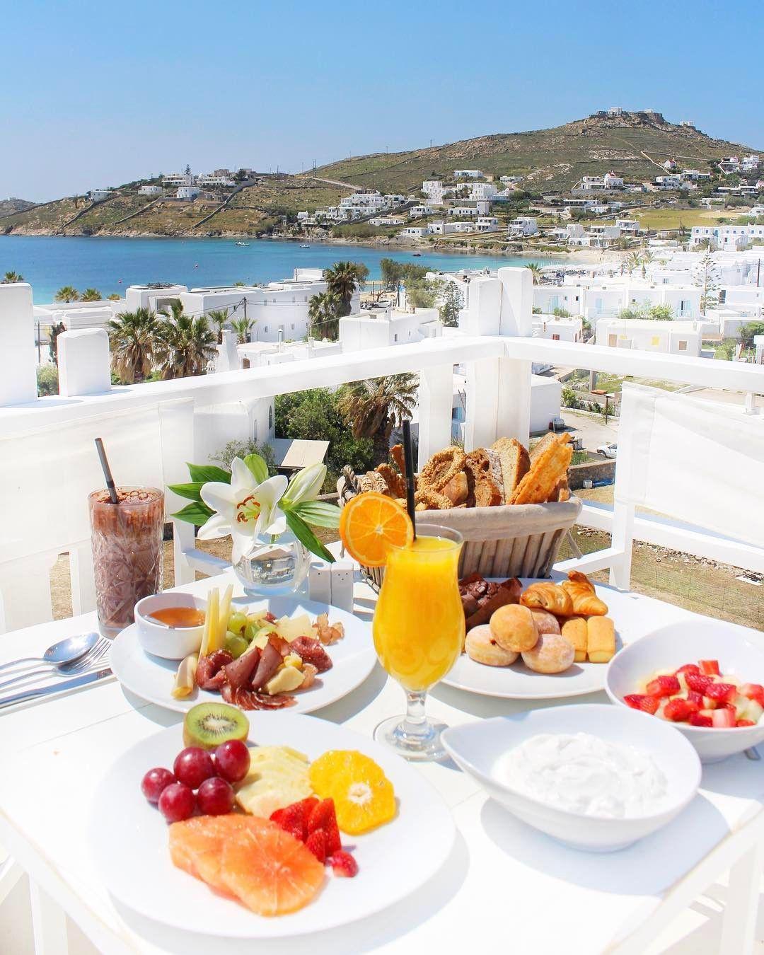 Garden By The Bay Breakfast kali órexi / bon appétit! from @kenshomykonos