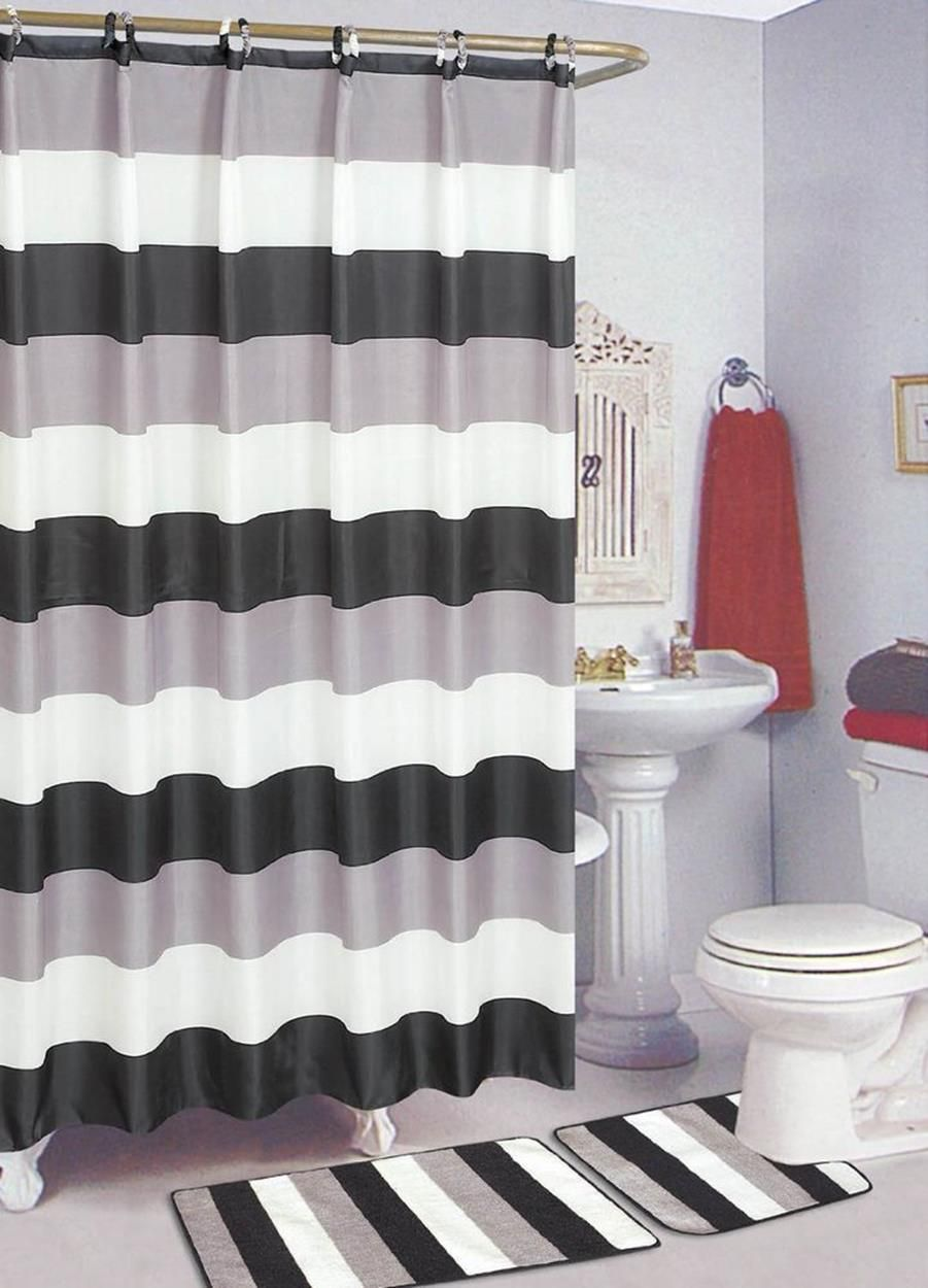 perfect bathroom sets with shower curtain and rugs bathroomsets