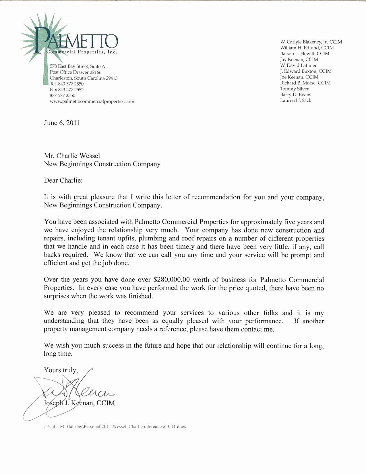Realtor Letter Examples New Reference