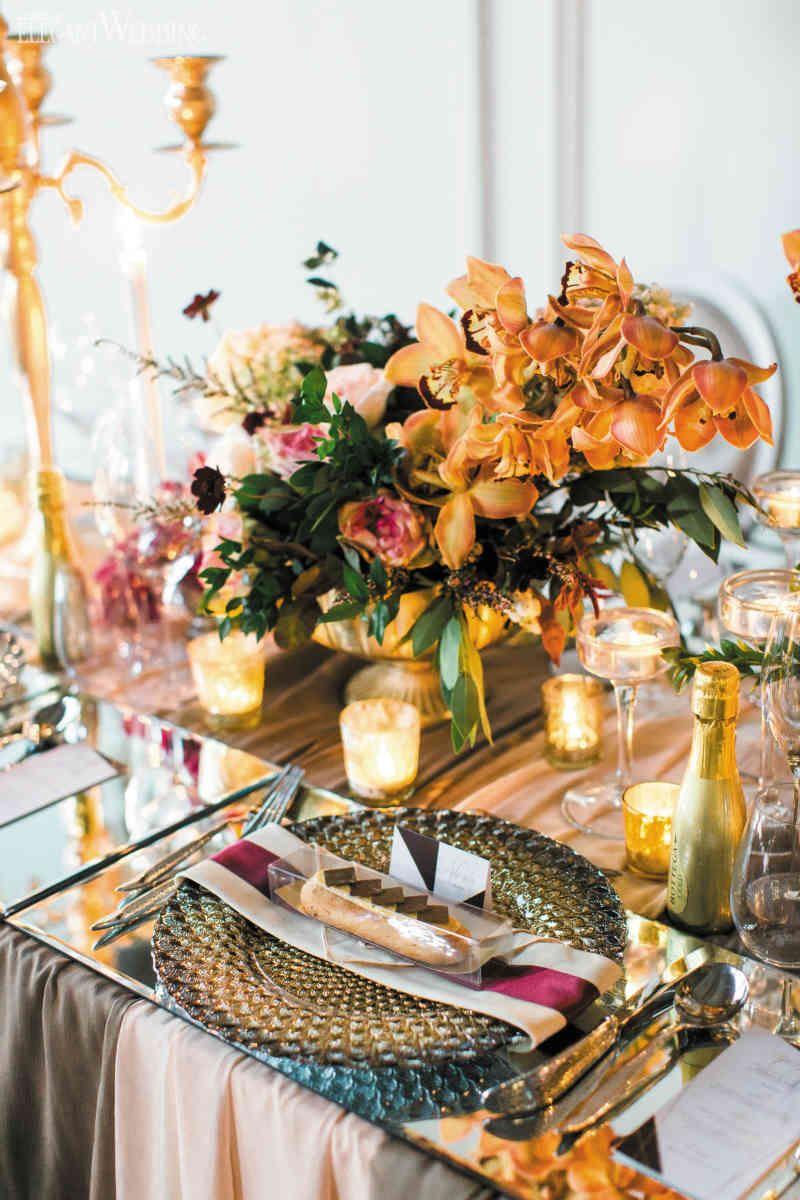Modern Fall Wedding Decoration Ideas