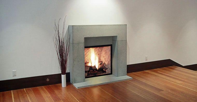 modern fireplace surrounds | Mid Century Modern | Pinterest ...