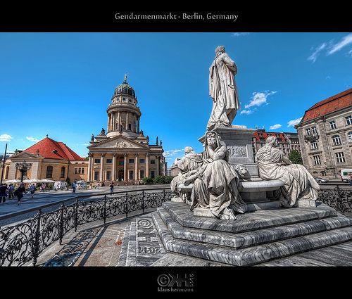 Gendarmenmarkt Berlin Germany Hdr Germany Berlin Berlin Germany