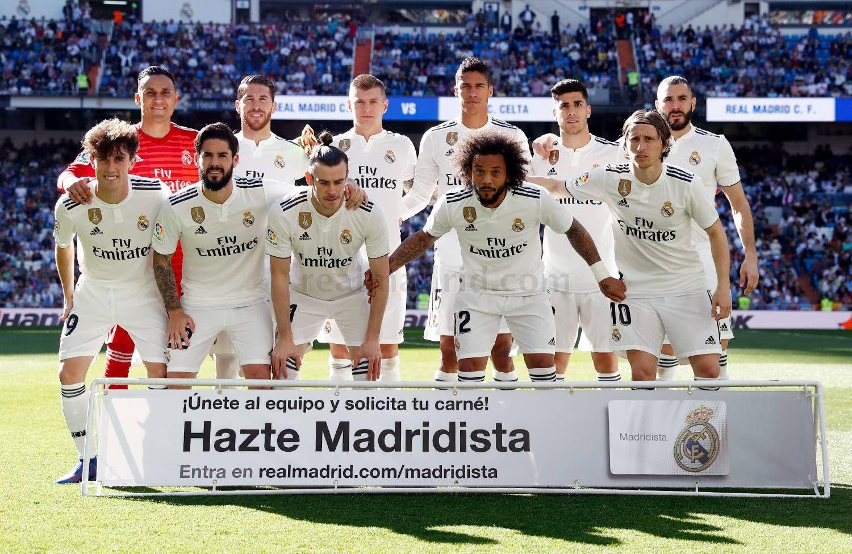 Real Madrid Cf Web Oficial Real Madrid Asensio Celta