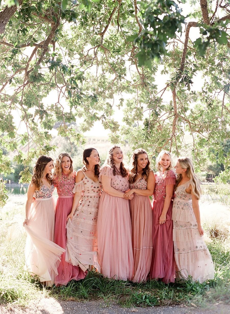 A Wedding Planner S Quintessential Southern California Wedding Weekend Wedding Southern California Wedding Weekend Blush Bridesmaid Dresses [ 1229 x 900 Pixel ]