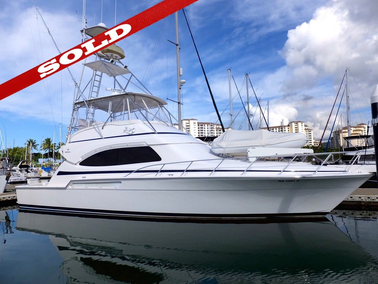 51 Bertram sold by Kusler yachts Hawaii Yacht for sale