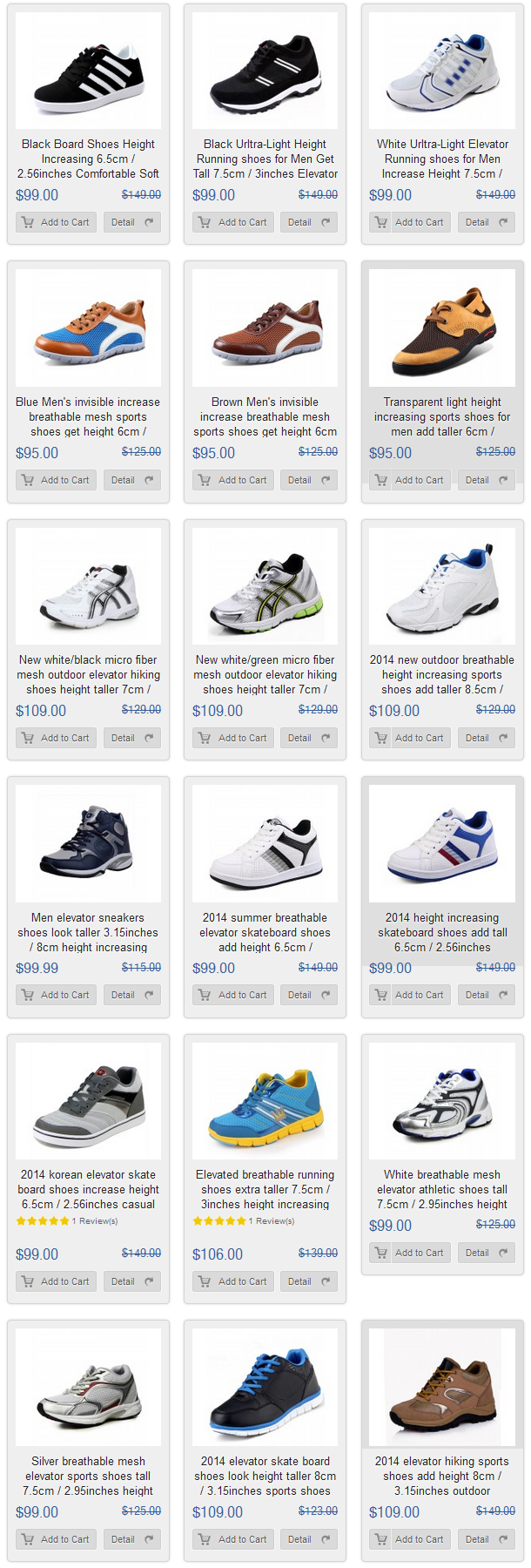 70 Best Elevator Sports Shoes Height