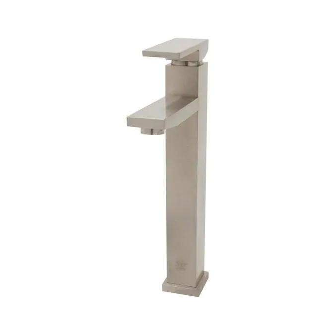 Sir Faucet Brushed Nickel 1 Handle Vessel Watersense Bathroom Sink Faucet Lowes Com In 2021 Vessel Faucets Single Handle Bathroom Faucet Faucet Design