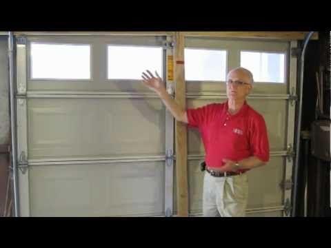 How To Reinforce Your Garage Door Before A Storm Youtube Garage Doors Hurricane Door Brace