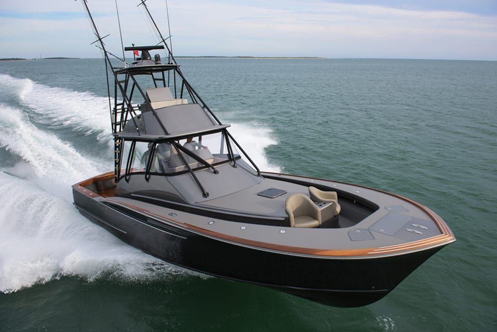 Jarrett Bay 46 Boat, Boat design, Sport fishing boats