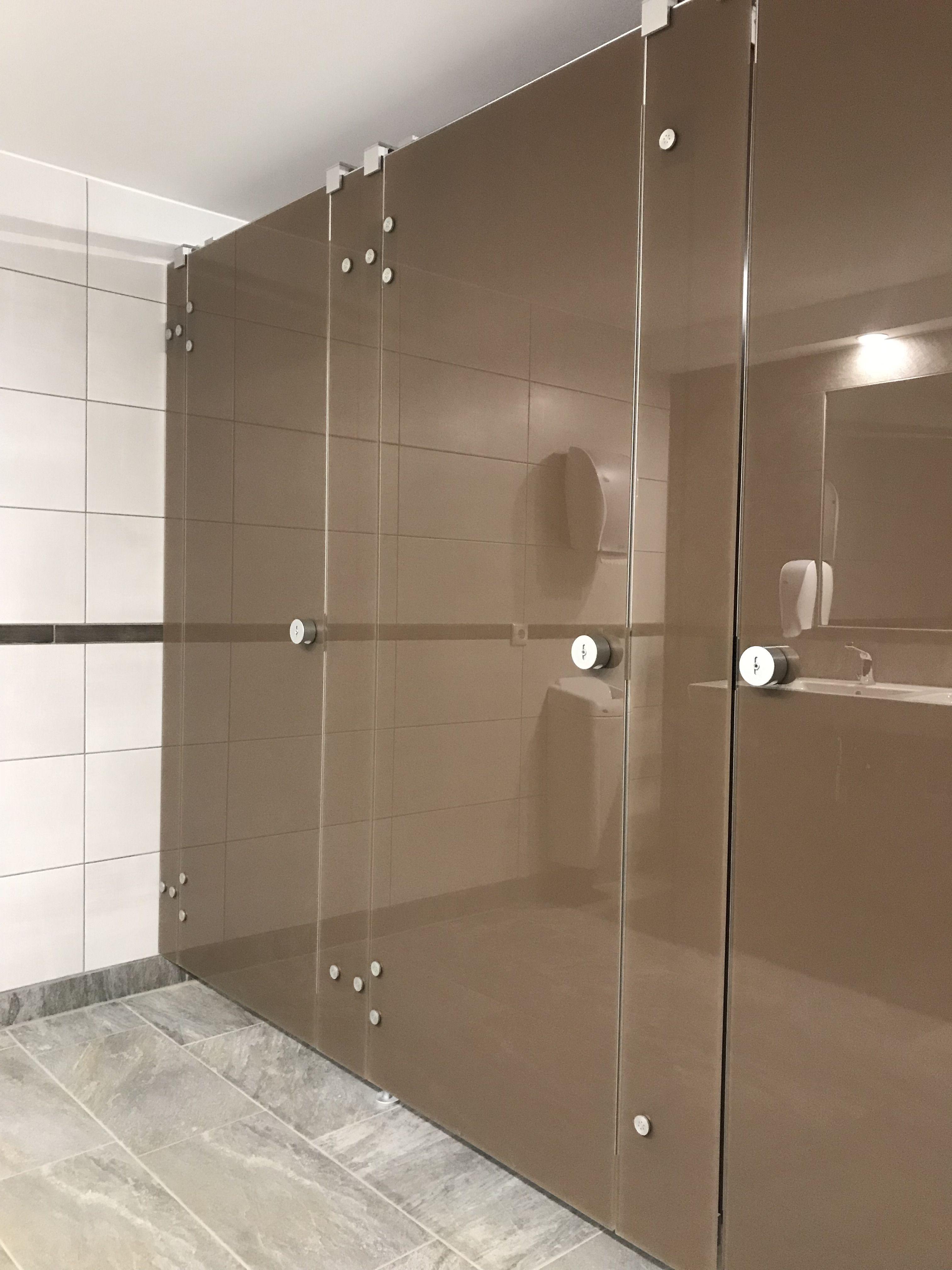 WC-Trennwand der Baureihe NOXX smart von KEMMLIT in der Farbe ...