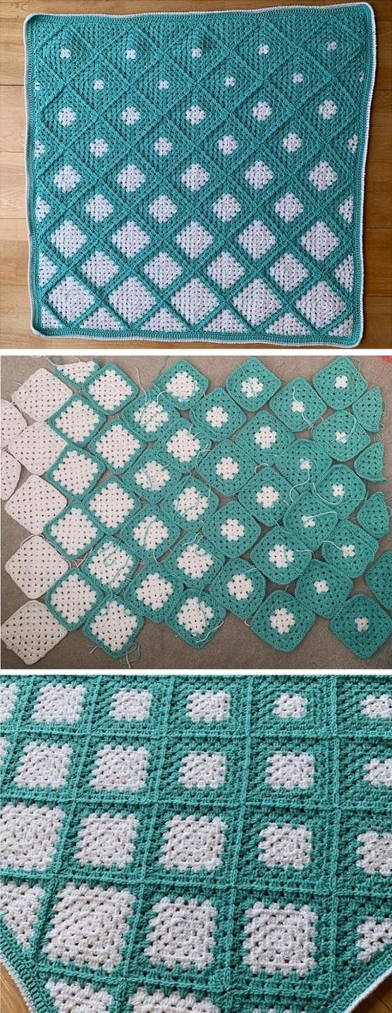 Photo of Häkeln Sie Oma-Quadrate in eine Decke – Design Peak – – #Blanket #Crochet #desi …
