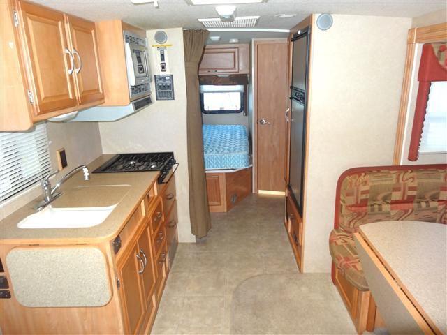 Used 2007 Winnebago Aspect Class B Motorhomes For Sale In North