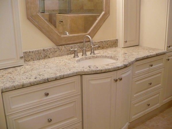 Santa Celia Granite Bathroom Bathroom Vanity Countertops