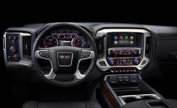 Black 2018 Gmc Denali 3500hd Dually Truck Interior Gmc Denali