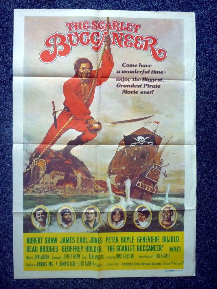 SCARLET BUCCANEER Original 1976 Australian One Sheet Movie