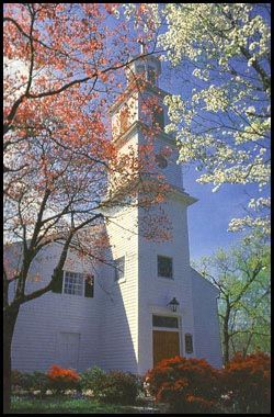 """St Johns Church  Richmond, VA  site of Patrick Henry's famous """"Give me Liberty,or Give me Death"""" speech"""