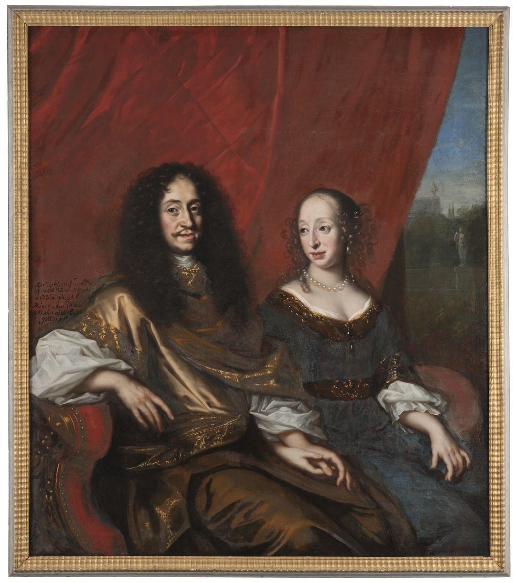 File:Gustav Adolf, 1633-1695, hertig av Mecklenburg-Güstrow. Magdalena Sibylla, 1631-1719, av Holstei - Nationalmuseum - 15541.tif