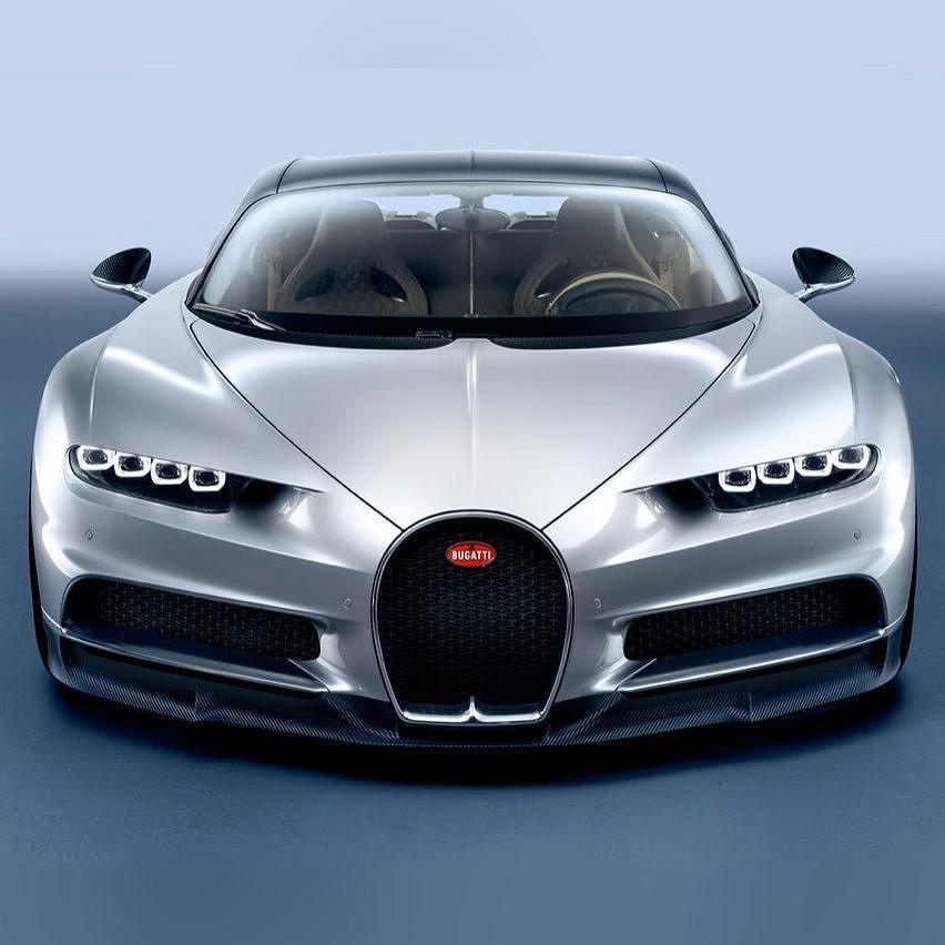 2016 Geneva Motor Show Bugatti Chiron First Look