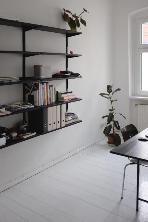 Schlichte Und Minimalistische Einrichtung Furs Arbeitszimmer