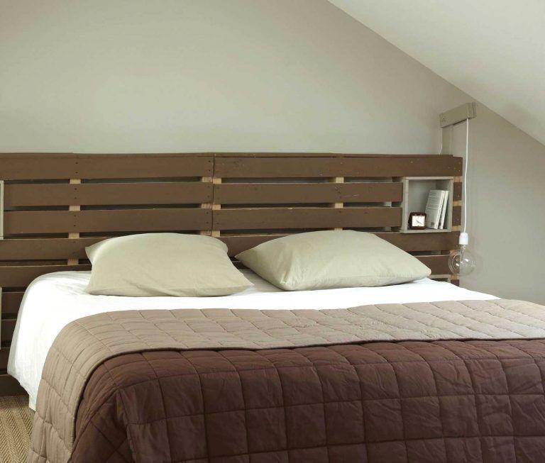 Cool Pallet Bed Lit En Palette Meubles En Bois De Palettes Et Idees De Meubles